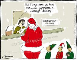 christmas unemployment