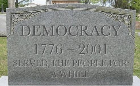Democracy Dead